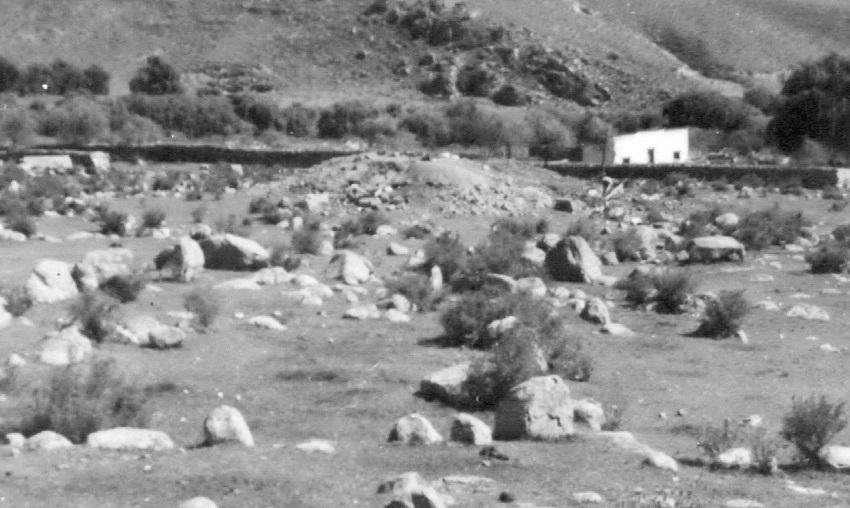 Montículo de Casas Viejas. Fotografía de Archivo.