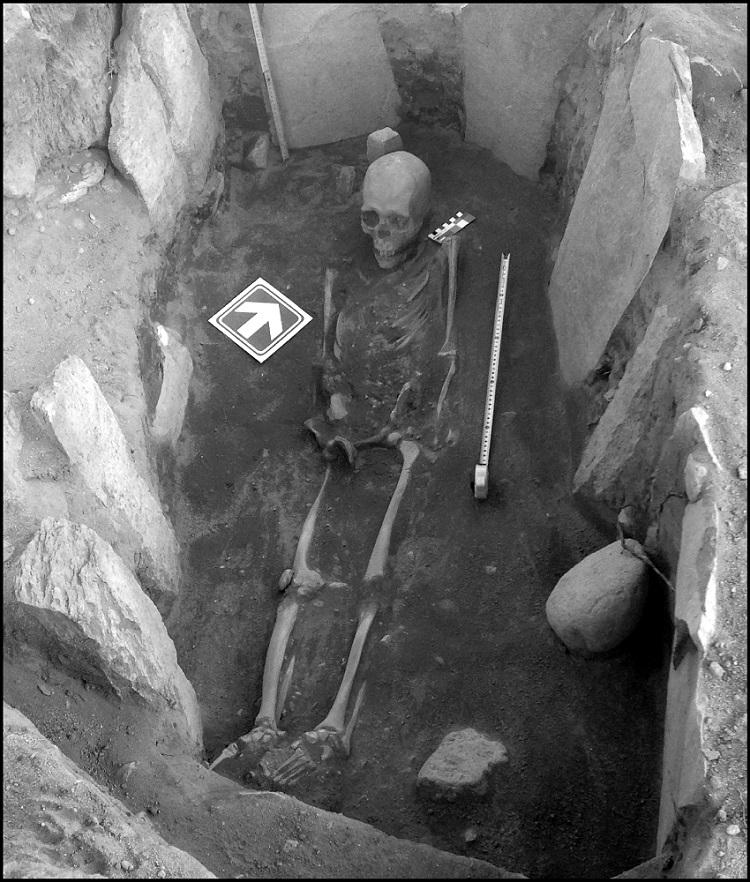 LP-III durante la excavación