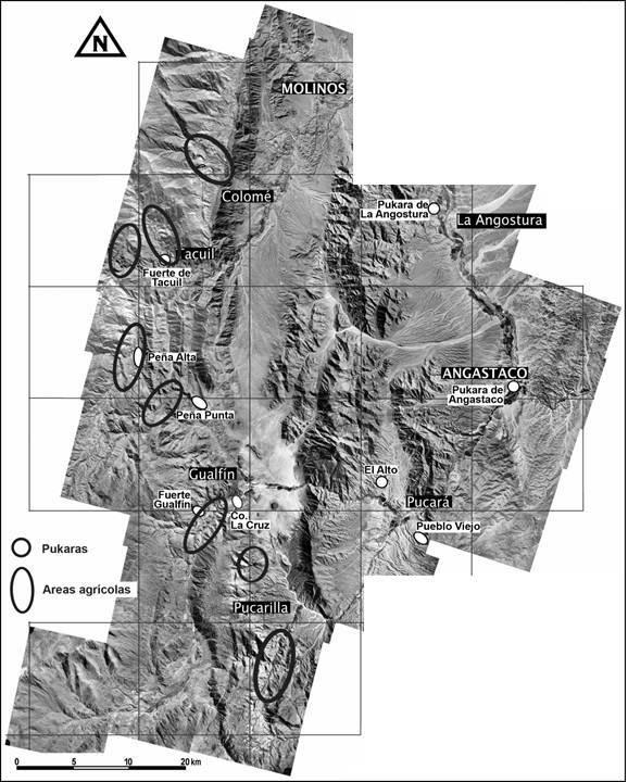 Imágenes de las áreas agrícolas de la zona.